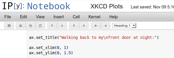 IPython HTML notebook